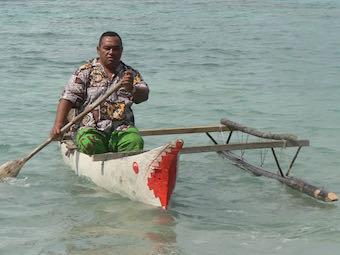 outrigger canoe TTD