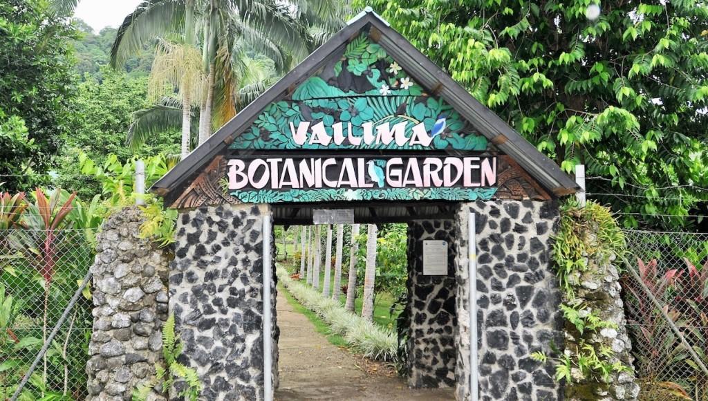 Entrance to Botanical Gardens, Vailima