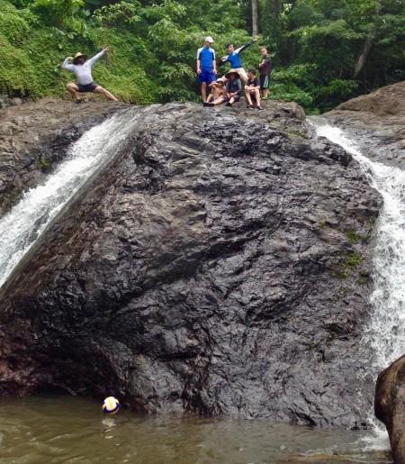 waterfalls pools samoa